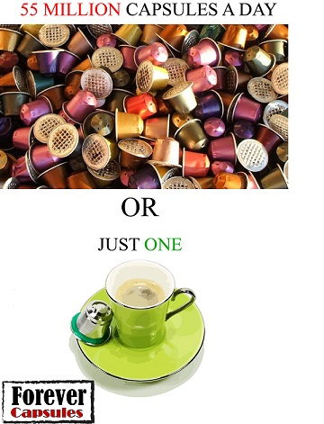 refillable coffee capsules israel